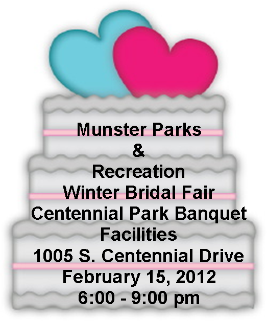 centennial park munster bridal fair show Centennial Park Winter Bridal Fair   February 15th, 2012   Munster, Indiana